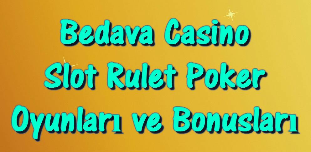 Casino turko bedava poker oyna